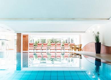 Schwimmbad im Ringhotel Teutoburger Wald