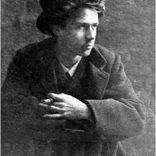 Portrait von Otto Modersohn von 1884