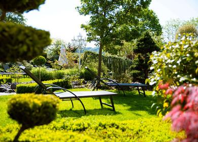 Wellness im Garten des Ringhotels Teutoburger Wald