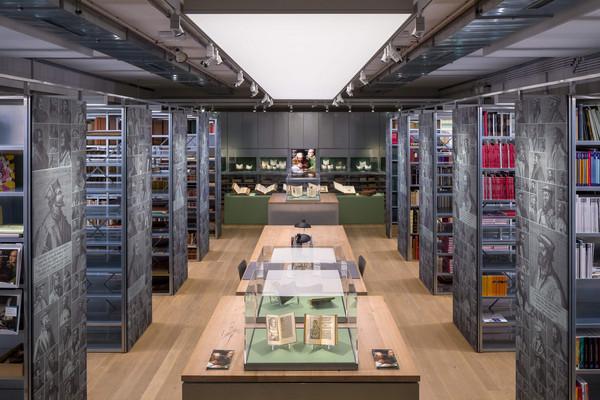 Blick in den Ausstellungsraum der Draiflessen Collection