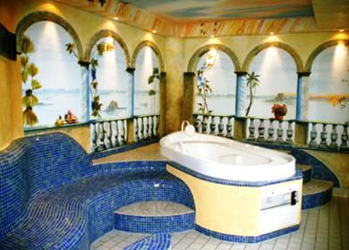 Hotel Leugermann Wellness im Saunabereich