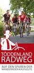 Töddenland Radweg
