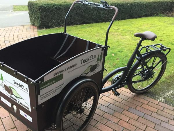 Das Tecklenburger E-Lastenrad
