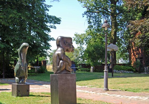 Skulpturausstellung im Kulturhof Westerbeck in Westerkappeln